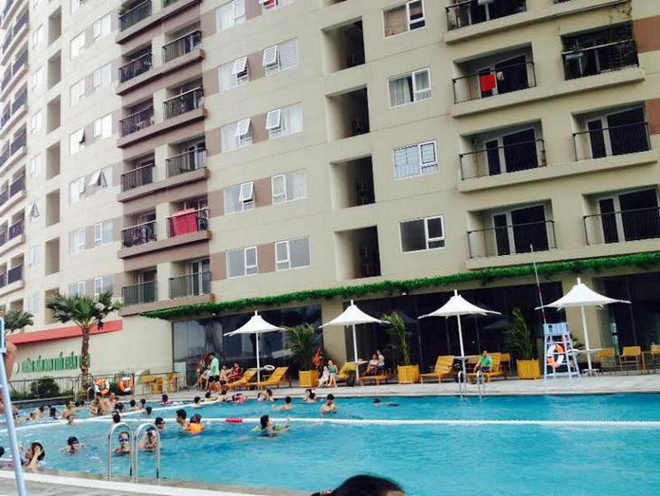 bể bơi chung cư Văn Phú Victoria
